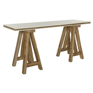 Safavieh Couture High Line Collection Kirby Pine Natural Console Table