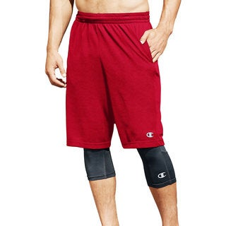 Champion Men's Core Solid Basketball Shorts