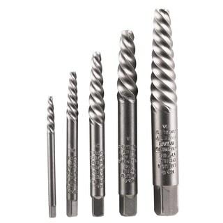 Vermont American 21822 5-piece Set Spiral Flute Screw Extractors