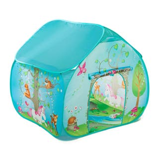 Fun2Give Pop-It-Up Enchanted Forest Play Tent https://ak1.ostkcdn.com/images/products/11528372/P18476194.jpg?impolicy=medium