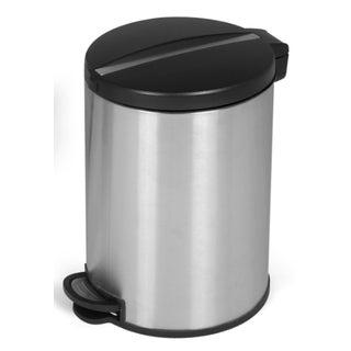 Joyware 5 Liter Round Shaped Stainless Steel Trash Can