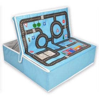 Fun2Give Pop-it-Up Garage with Road Playmat and Storage