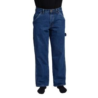 Stanley Men's Denim Flannel Lined Carpenter Jean