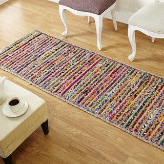 Better Trends Astoria Jute Braided Runner (2' x 6')