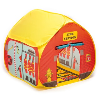 Fun2Give Pop-it-Up Firestation Tent with Streetmap Playmat