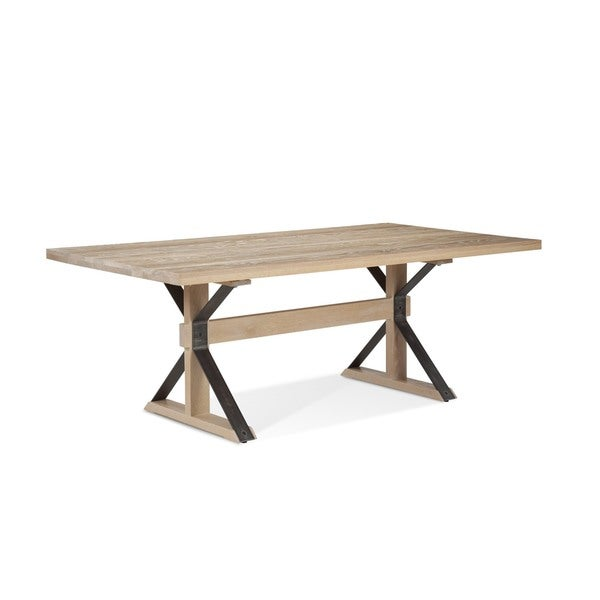 Dining Room Table 42 X 72 Saloom Tremont Inch Rectangular Frost Oak