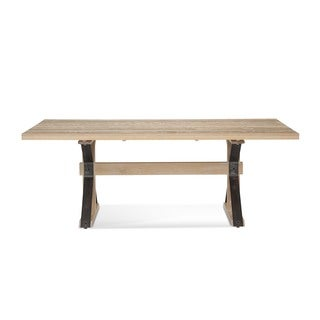 Saloom Tremont 42 x 80-inch Rectangular Frost Oak Dining Table