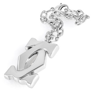 Cartier Stainless Steel Double 'C' Keychain