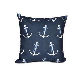 Anchor Whimsy Geometric Print 20-inch Throw Pillow