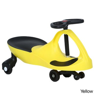 Lifetime Products Wiggle Car (Option: Yellow)