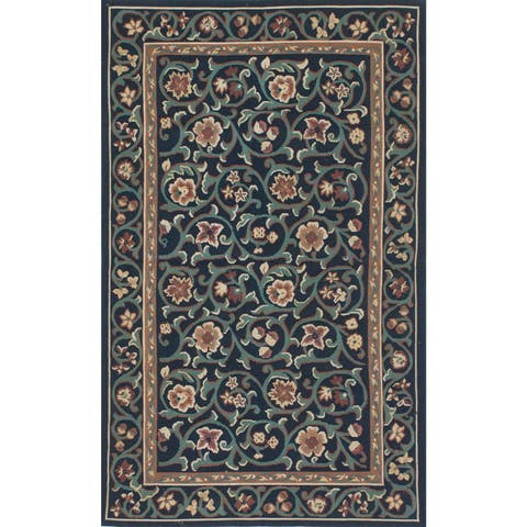 ecarpetgallery Hand-woven French Tapestry Wool Sumak