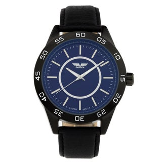 Deporte Silverstone Men's Textured Dial Core with Luminescent Hands Watch