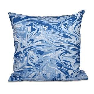 Melange Geometric Print 20-inch Throw Pillow