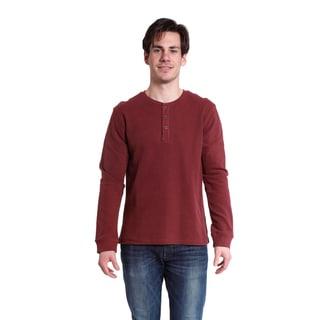 Stanley Men's Long Sleeve Waffle Henley Shirt