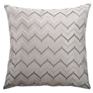 Life Line Decorative Throw Pillow (Silver)