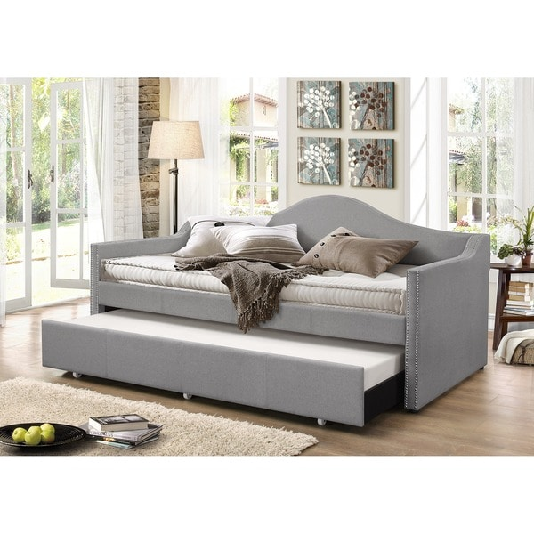 living room day bed shop baxton studio psykhe modern contemporary beige or 16488