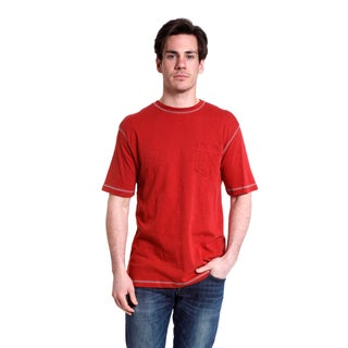 Stanley Men's Short Sleeve Slub Jersey Cotton Crew T-Shirt