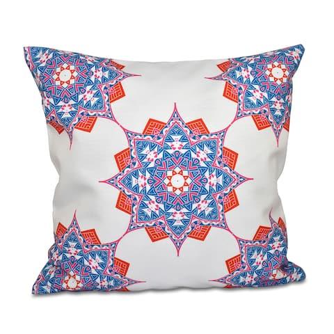 Rhapsody Geometric Print 20-inch Throw Pillow