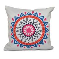Mod Geometric Print 26-inch Throw Pillow