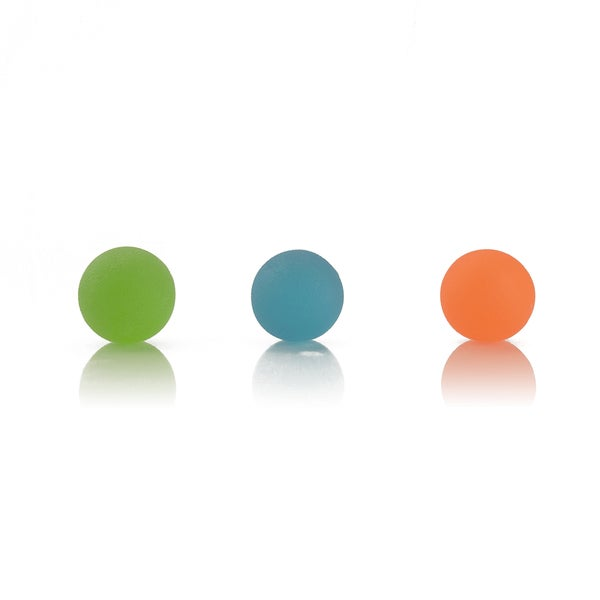AeroMat Round Squeeze Ball Hand Exercisers (Pack of 3)