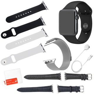 Apple Watch Sport 42mm with 5 Additional Straps and Screen Protector