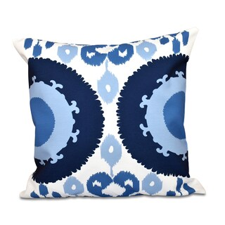 Boho Geometric Print 26-inch Throw Pillow