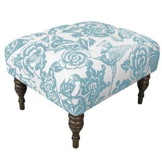 Skyline Furniture Canary Robin Tufted Ottoman