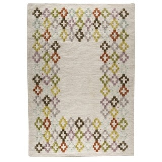 M.A.Trading Hand-woven Khema3 Multicolored Rug (4'6 x 6'6)