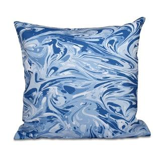 Melange Geometric Print 16-inch Throw Pillow