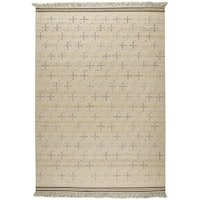 M.A.Trading Hand-woven Bergen White Rug (9' x 12') (India)