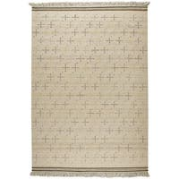 Hand-woven Bergen White Rug (9' x 12')