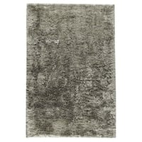 M.A.Trading Hand-woven Sunshine Silver Rug (5' x 8') (India)
