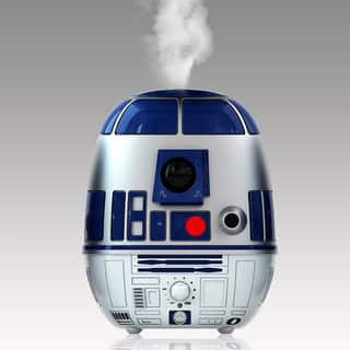 Disney Star Wars R2D2 Ultrasonic Cool-Mist Humidifier in Blue/Silver|https://ak1.ostkcdn.com/images/products/11529484/P18477131.jpg?impolicy=medium