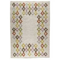 Handmade M.A.Trading Khema3 Multicolored Rug (India)