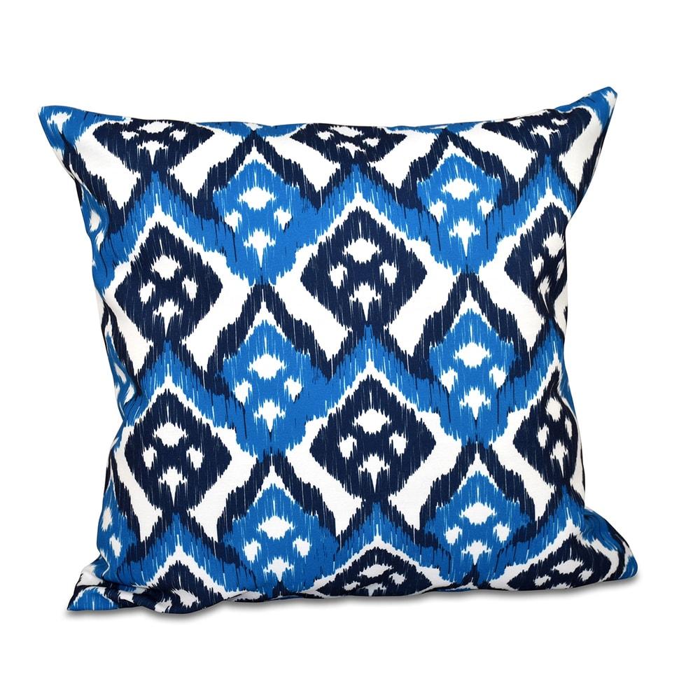 Geometric Print 20 inch Throw Pillow