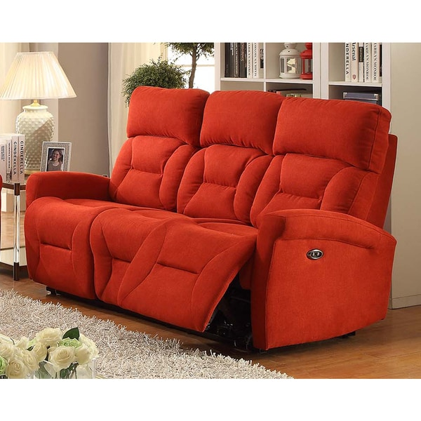 Shop Easy Living Holland Power Reclining Sofa With Usb