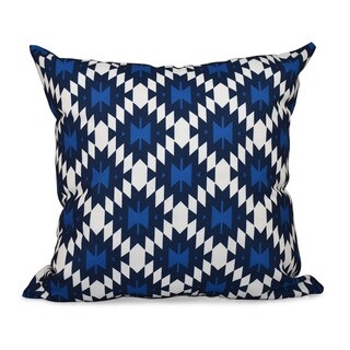 Jodhpur Kilim Geometric Print 26-inch Throw Pillow