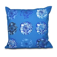 Gypsy Floral 2 Floral Print 26-inch Throw Pillow