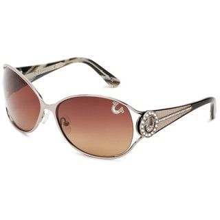 True Religion Jackie Gunmetal Sunglasses