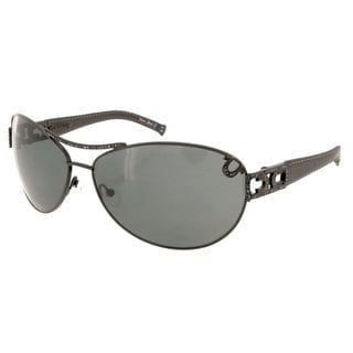 True Religion Sierra Black with Grey Lens Sunglasses