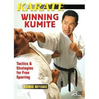 Kunio Miyake Karate Winning Kumite Sparring Strategies and Tactics DVD