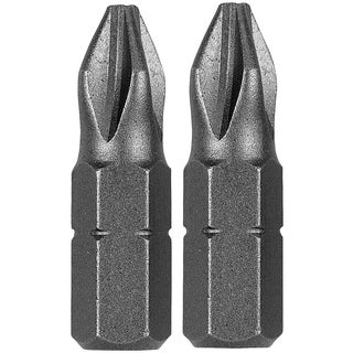 Vermont American 15321 1-inch Extra Hard #6-8 Slotted Insert Bits 2-count