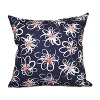 Penelope Floral Geometric Print 26-inch Throw Pillow
