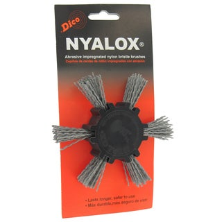 Dico 7200033 4-inch Extra Coarse Nyalox Flap Wire Brush