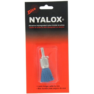 Dico 7200027 0.75-inch Medium/Fine Nyalox Wire End Brush