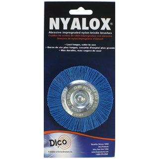 Dico 7200018 3-inch Medium/Fine Nyalox Wire Brush