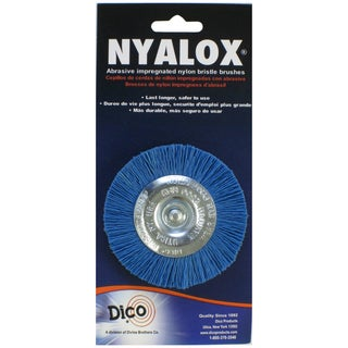 Dico 7200018 3-inch Medium/Fine Nyalox Wire Brush