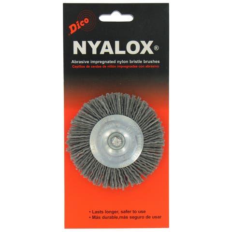 Dico 7200015 3-inch Extra Coarse Nyalox Wire Brush