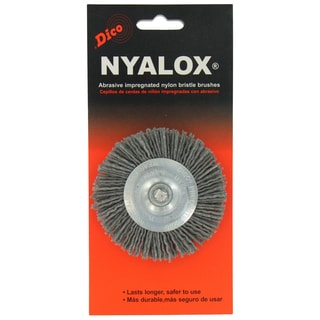 Dico 7200015 3-inch Extra Coarse Nyalox Wire Brush