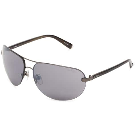 True Religion Reese Dark Grey and Soft Gun Sunglasses - M